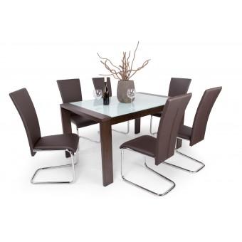 Paulo 6 személyes étkező, Piero asztallal  6 személyes étkező garnitúrák