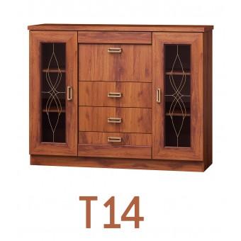 Tadeus (T14) komód  Tadeus tálaló szekrény