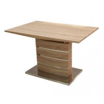 Claudia 120-as étkezőasztal  Design étkező asztal Fa vázas és bútorlap asztalok