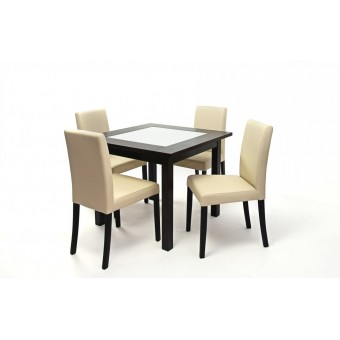 Kanzo 4 személyes étkező, Stella Kis asztallal  4 személyes étkező garnitúrák