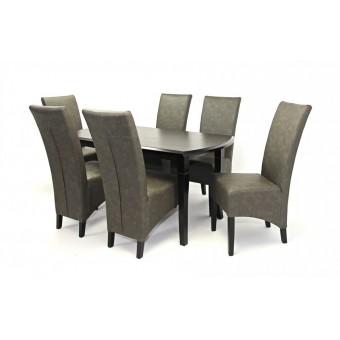 Pilat 6 személyes étkező, Cleo asztallal  6 személyes étkező garnitúrák