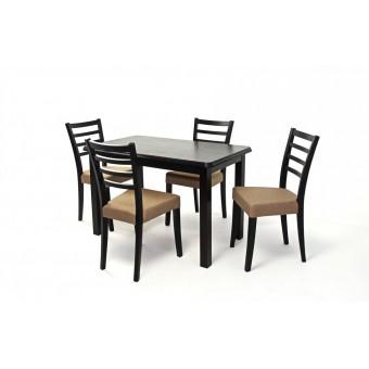 Alina 4 személyes étkező, Piano 120-as asztallal  4 személyes étkező garnitúrák