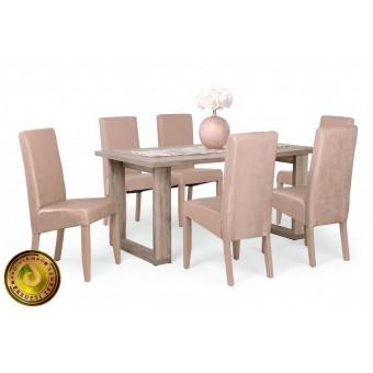 Berta Exclusive étkező, Atlantis asztallal  6 személyes étkező garnitúrák