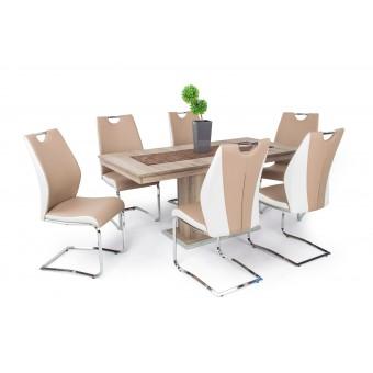 Adél 6 személyes étkező, Flóra asztallal  6 személyes étkező garnitúrák