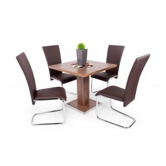 Paulo 4 személyes étkező, Cocktail asztallal  4 személyes étkező garnitúrák