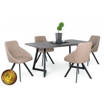 Domino étkező, Caesar asztallal  4 személyes étkező garnitúrák