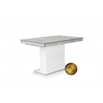 Flóra 160-as asztal, beton  Fa vázas és bútorlap asztalok
