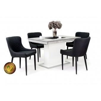 Brill 4 személyes étkező, Flóra kis asztallal  4 személyes étkező garnitúrák