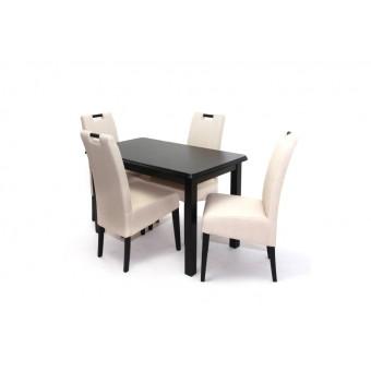 Atos 4 személyes étkező, Piano 120-as asztallal  4 személyes étkező garnitúrák