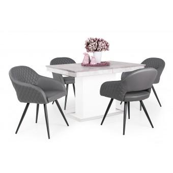 Cristal 4 személyes étkező, Flóra kis asztallal  4 személyes étkező garnitúrák