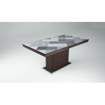 Flóra Plusz asztal  Fa vázas és bútorlap asztalok Design étkező asztal