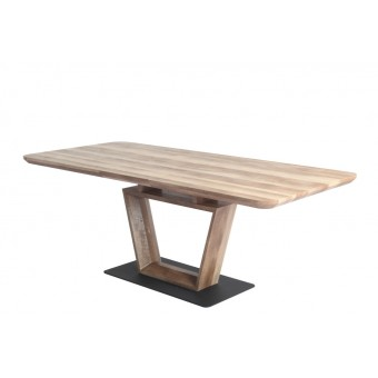 Leon asztal 160-as  Fa vázas és bútorlap asztalok Design étkező asztal