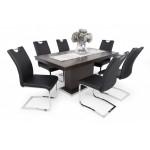 Új Mona 6 személyes étkező, Flóra asztallal  6 személyes étkező garnitúrák