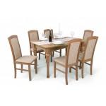 Barbi 6 személyes étkező, Benita 170-es asztallal  6 személyes étkező garnitúrák