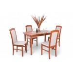 Barbi 4 személyes étkező, Piano 120-as asztallal  4 személyes étkező garnitúrák