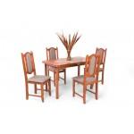 Lina 4 személyes étkező, Piano 120-as asztallal  4 személyes étkező garnitúrák Hétvégi akció