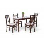 Bianka 4 személyes étkező, Piano 120-as asztallal  4 személyes étkező garnitúrák