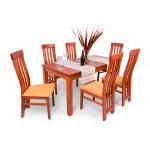 Lara 6 személyes étkező, Leila 160-as asztallal  6 személyes étkező garnitúrák