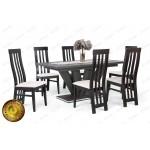 Lara 6 személyes étkező, Dorka 170-es asztallal  6 személyes étkező garnitúrák