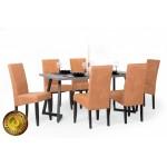 Berta Elegant étkező, Caesar asztallal  6 személyes étkező garnitúrák