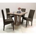 Berta exclusive 4 személyes étkező, Bella 130-as asztallal  4 személyes étkező garnitúrák