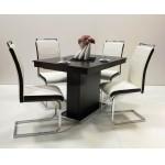 Száva 4 személyes étkező, kis Flóra asztallal  4 személyes étkező garnitúrák